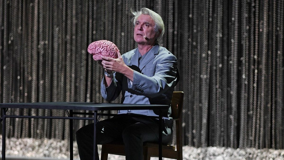 David Byrne na turné American Utopia