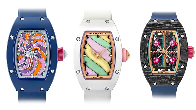 Bonbon Collection od Richard Mille.