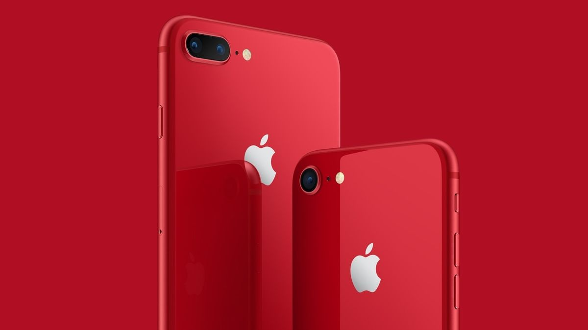 Apple iPhone 8 (RED)