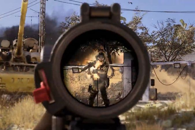 Upoutávka na multiplayer Call of Duty Modern Warfare