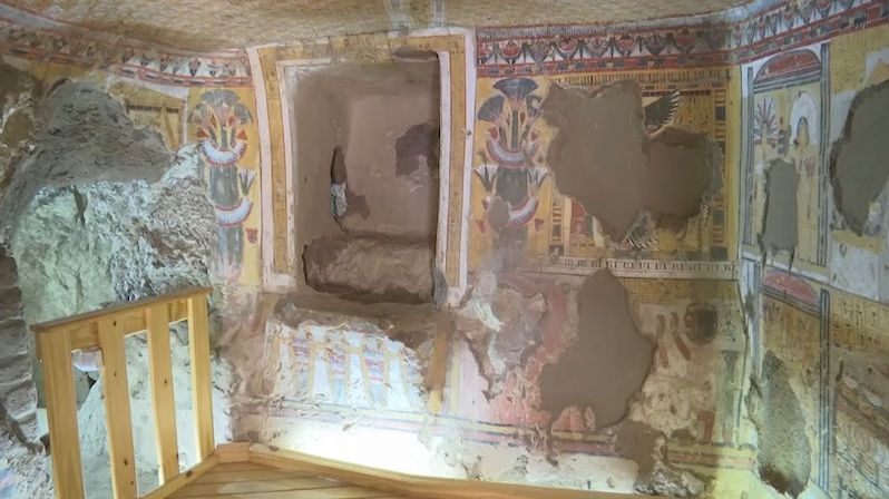 V egyptském Luxoru zpřístupnili dvě nové hrobky