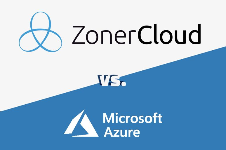 Zoner Cloud Server vs. Microsoft Azure