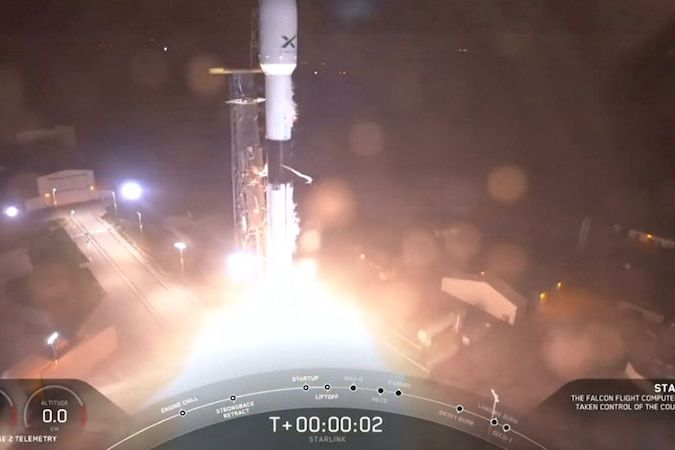 Start rakety Falcon 9