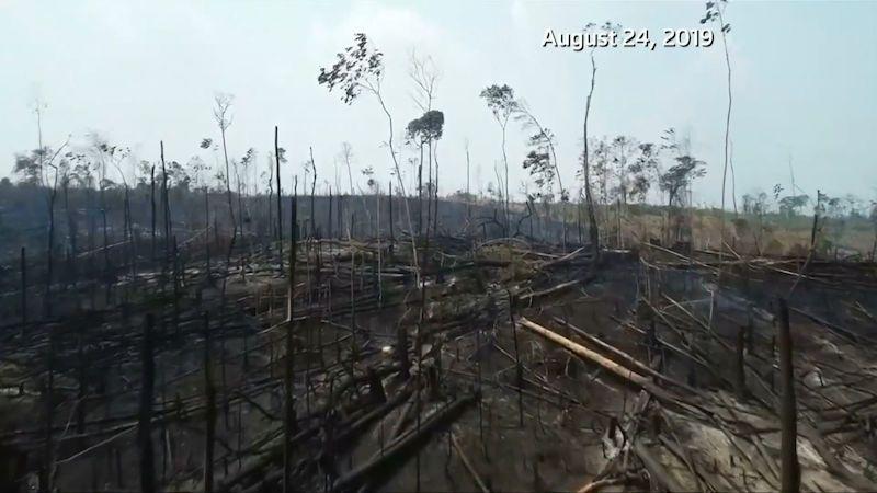 Nejsme ničí kolonie, odmítl prezident miliony na boj s požáry v Amazonii
