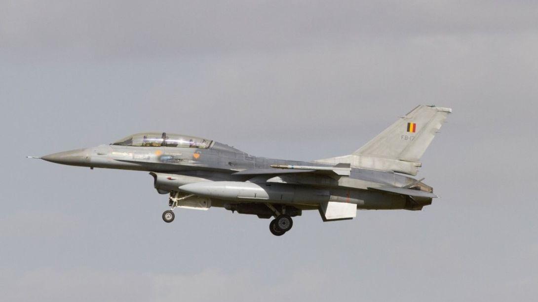 Ve Francii se zřítila belgická stíhačka F-16