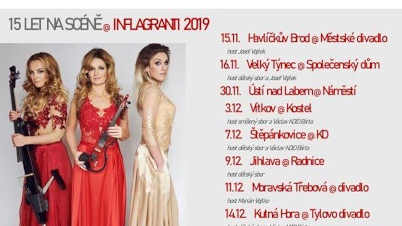 Kapela Inflagranti na podzimním koncertním turné oslaví 15 let na scéně