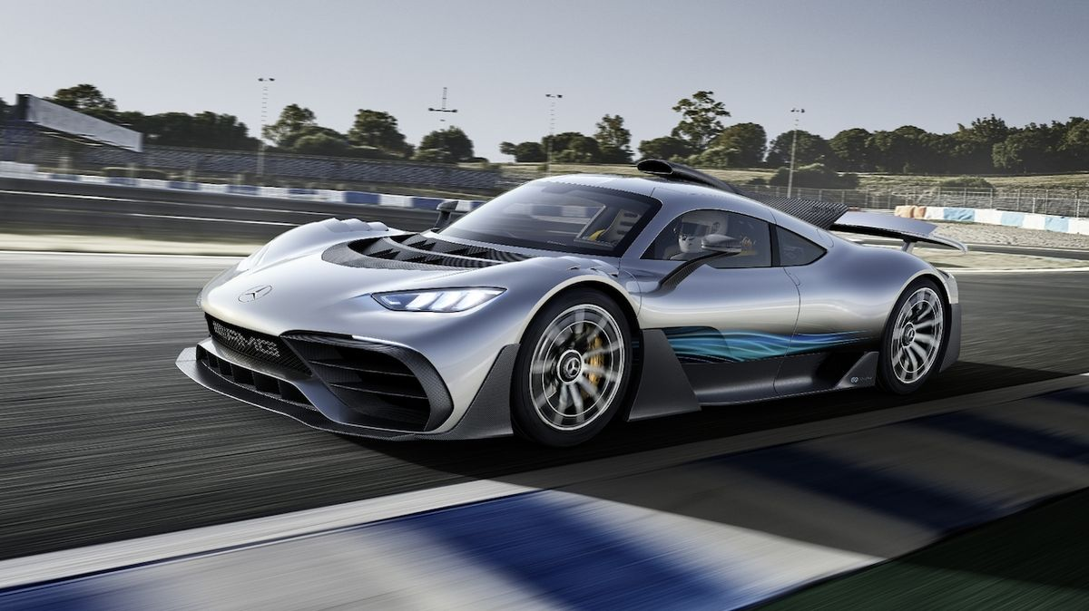 Mercedes po čtyřech letech spustí výrobu hypersportu inspirovaného formulí 1