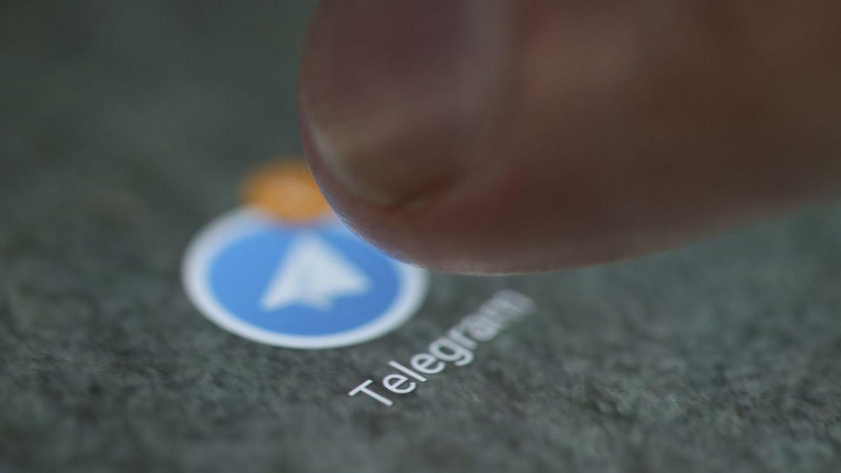 Logo aplikace Telegram