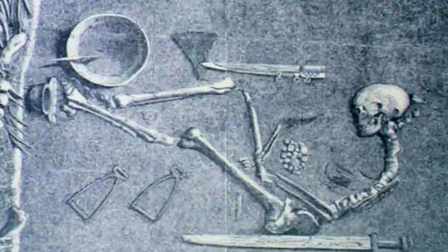 Místo připojení cukrové mumie