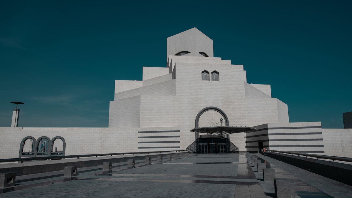 Budova inspirovaná burkou ukrývá výkvět islámské kultury