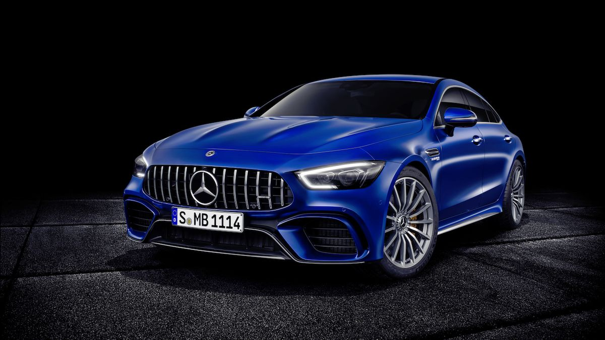 Mercedes-AMG GT 4-Door Coupé (2018)