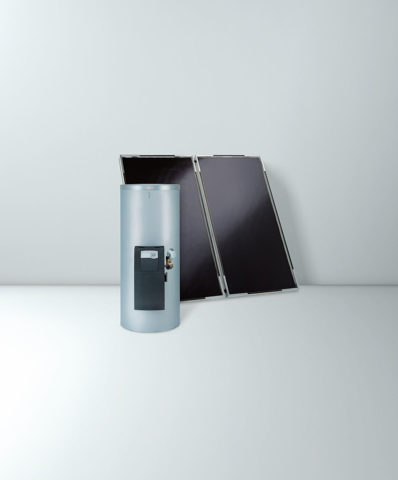 solární ohřívač vody připojte