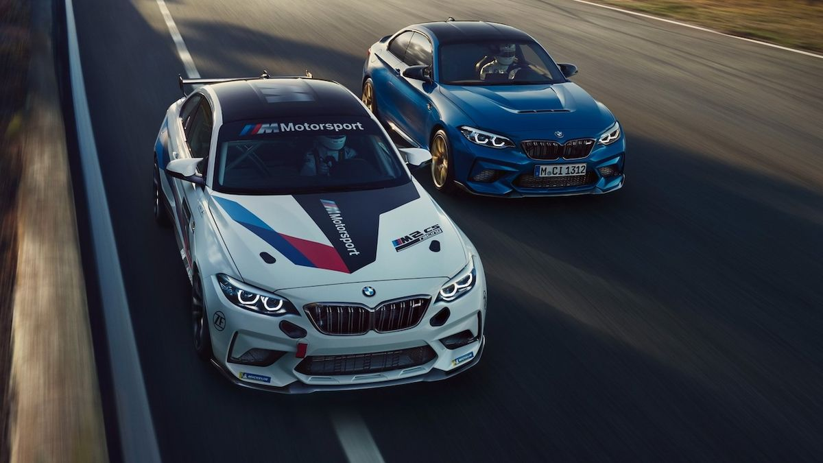 BMW M2 CS Racing a M2 CS
