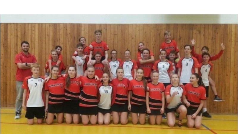 Druhé kolo starších žáků: vrepríze korfbalového finále dominoval Prostějov, Kolín má historickou výhru