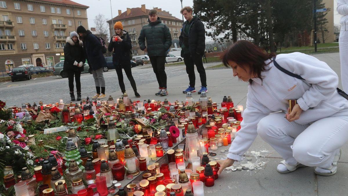 Pro pozůstalé po obětech střelby v ostravské nemocnici se vybralo 8,7 milionu