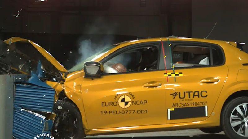 Čtyři nová auta prošla crash testy, dvě z nich na pět hvězd nedosáhla