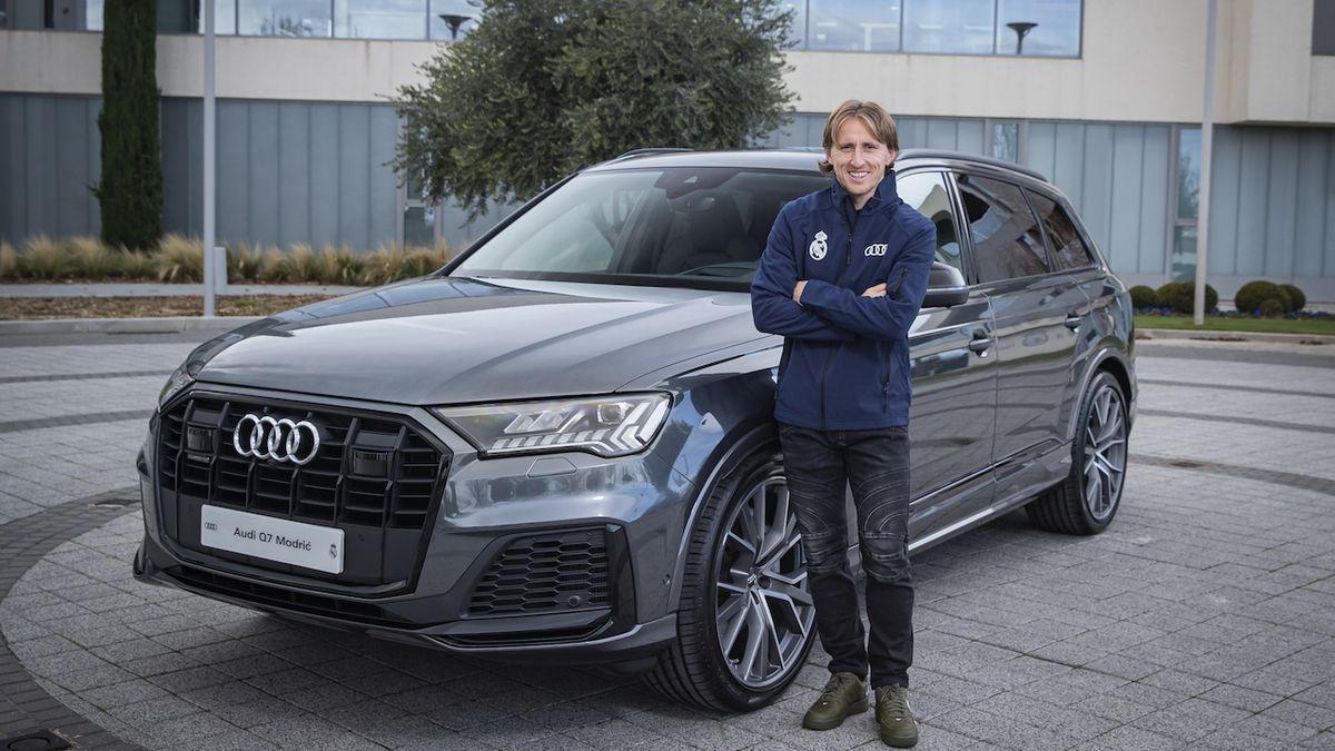Hráči Realu Madrid si mohli vybrat jakékoli Audi, jedenáctka se shodla