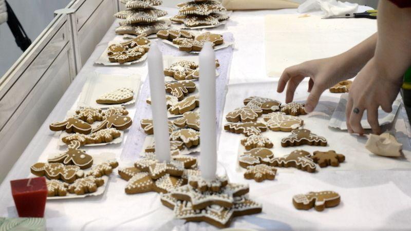 Lidé se na brněnském výstavišti naučí kuchat kapra nebo plést vánočku