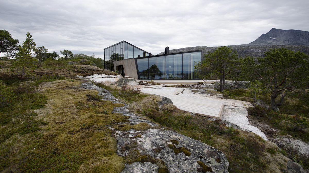 Soukromí i výhledy, dvoudílný dům nabízí obojí