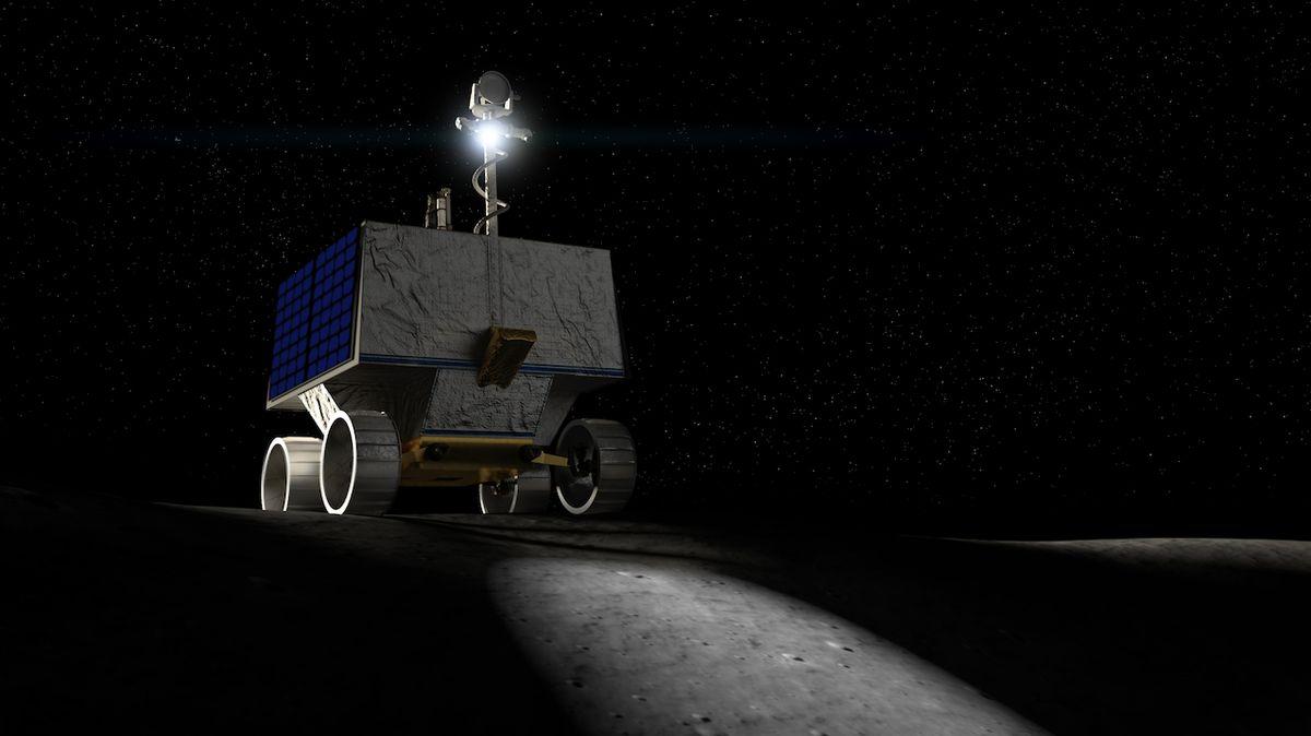 Před astronauty pošle NASA na Měsíc robotický rover. Bude mapovat tamní zdroje vody