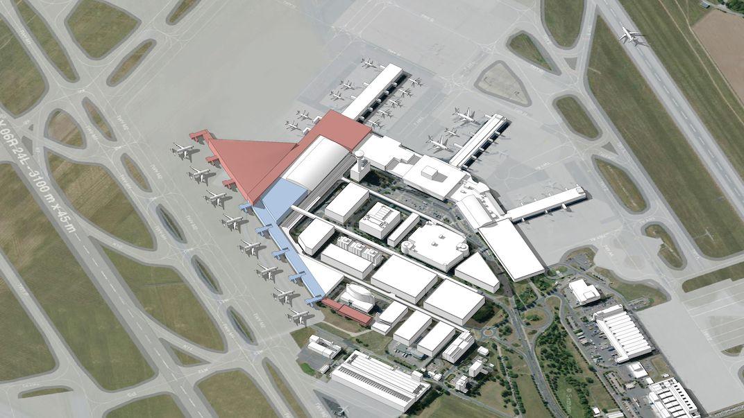 Letiště Praha rozšíří druhý terminál, počet cestujících se má zdvojnásobit