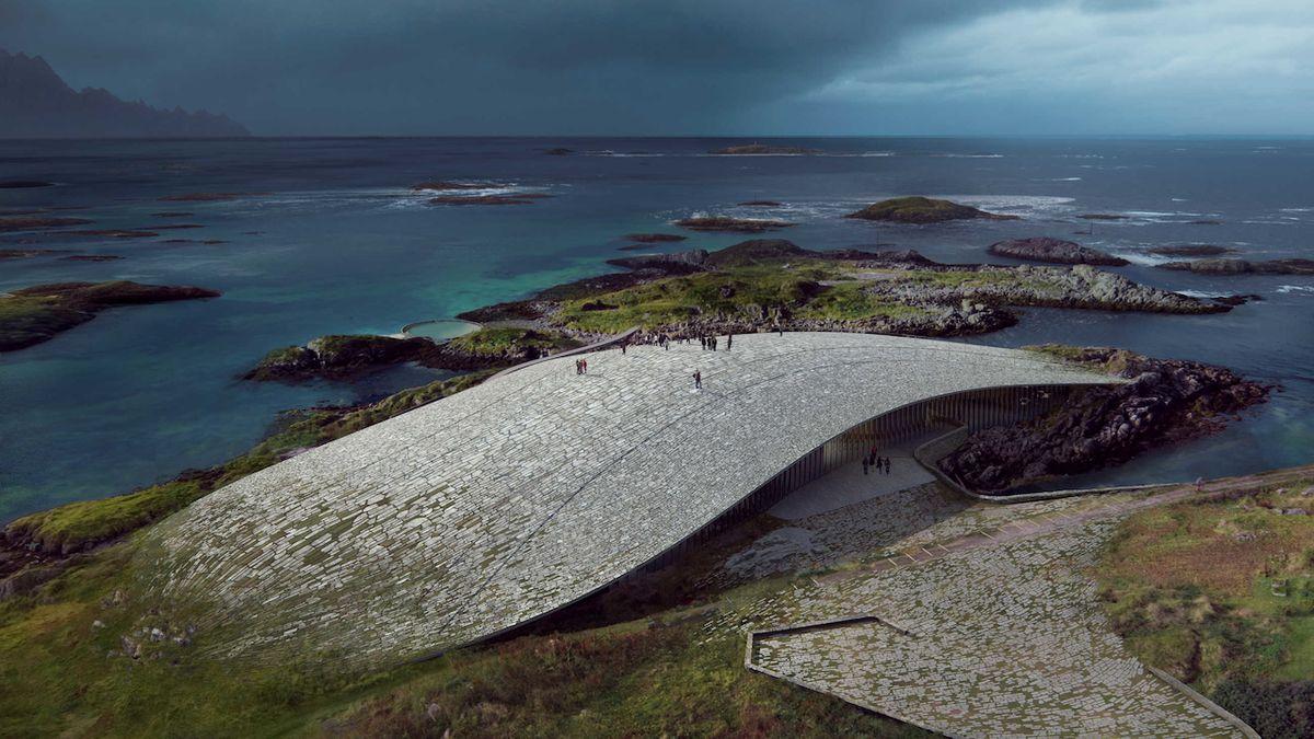 Za polárním kruhem v Norsku vyroste unikátní Velryba