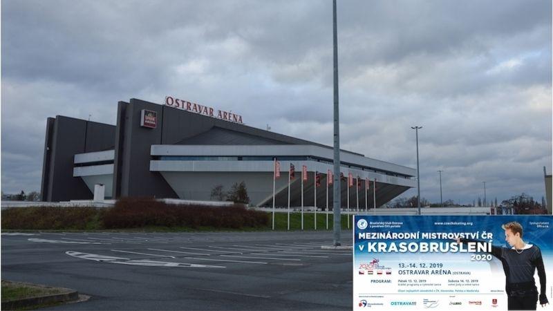 Mezinárodní mistrovství ČR vkrasobruslení hostí Ostrava