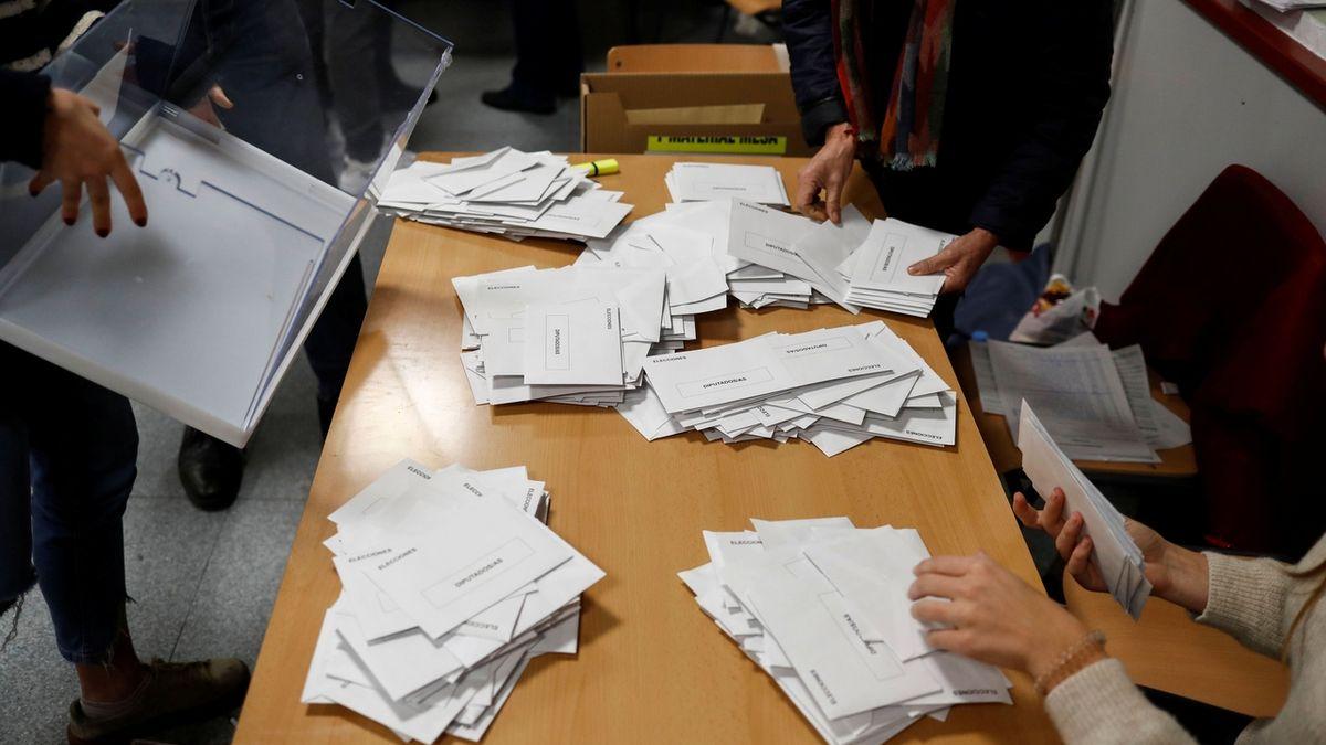 Volby ve Španělsku podle odhadů vyhráli socialisté, pravice ale posílila