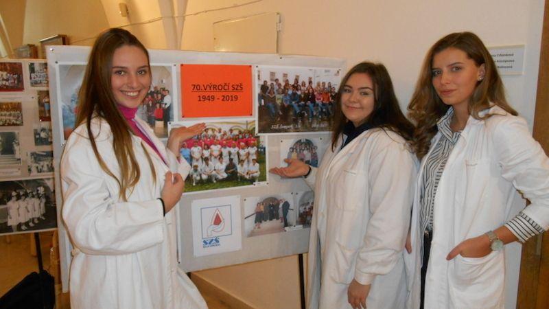 Střední zdravotnická škola vŠumperku oslavila sedmdesáté výročí založení