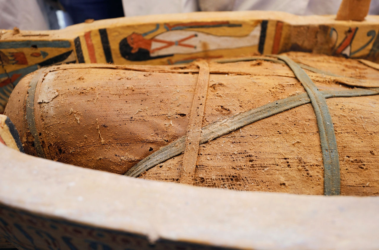 cukrová mumie z roku uk