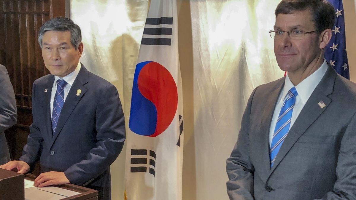 USA chtějí pět miliard za pobyt svých vojáků v Jižní Koreji, ta to odmítla