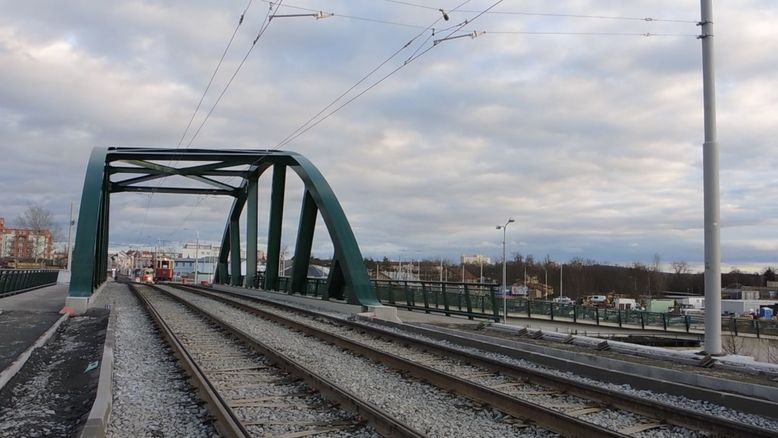 Plzeň má novou tramvajovou trať