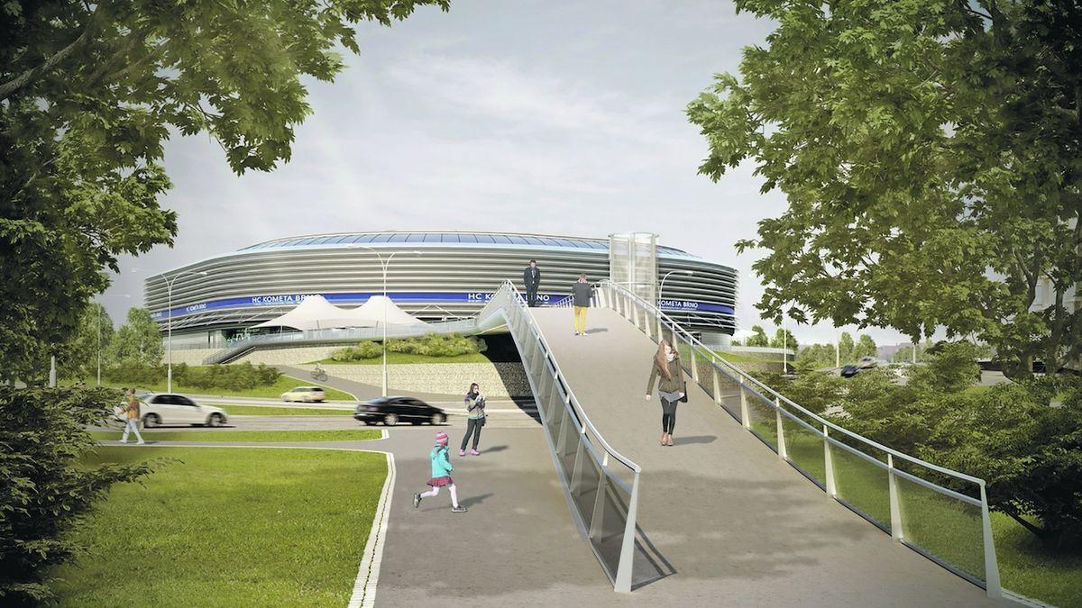 Hokejová aréna se Brnu přibližuje