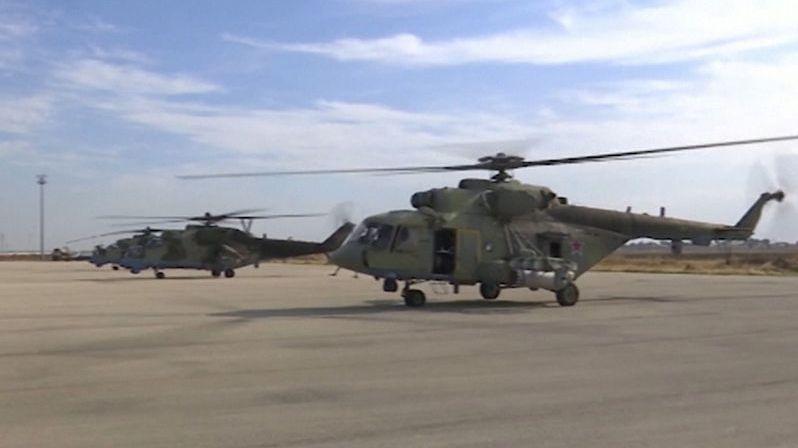 Rusové obsadili opuštěnou americkou základnu v Sýrii. Přiletěli bitevními vrtulníky