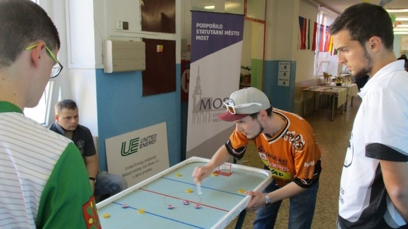 UE Czech Open - billiard-hockey šprtec