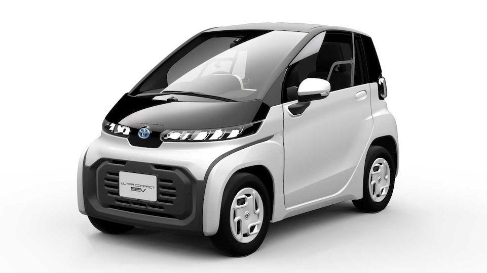 Toyota bude vyrábět miniaturní dvousedadlový elektromobil