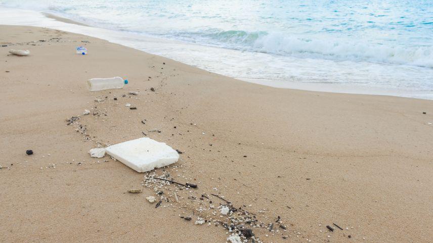 Starosta nechal vysypat tunu odpadků na pláž, aby měli dobrovolníci co uklízet