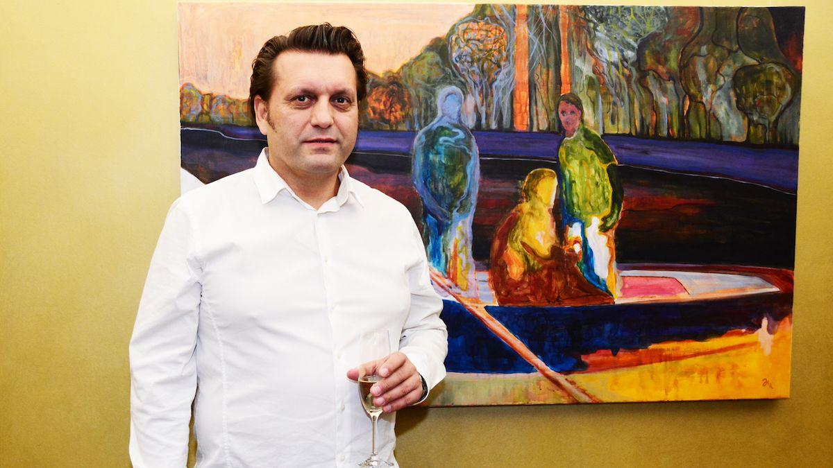 Lynchovské malířské meditace Jiřího Hauschky