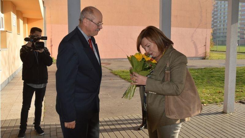 Ministryně financí navštívila ostravskou školu