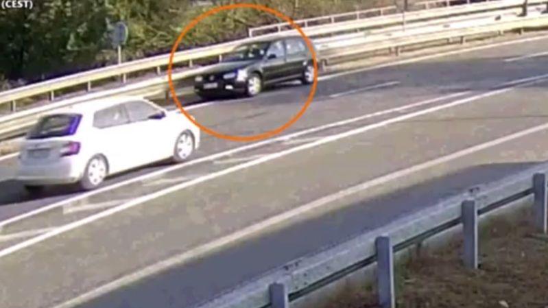 Řidička u Vyškova zazmatkovala a vjela na dálnici v protisměru