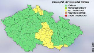 Na Česko se žene silný vítr, varovali meteorologové