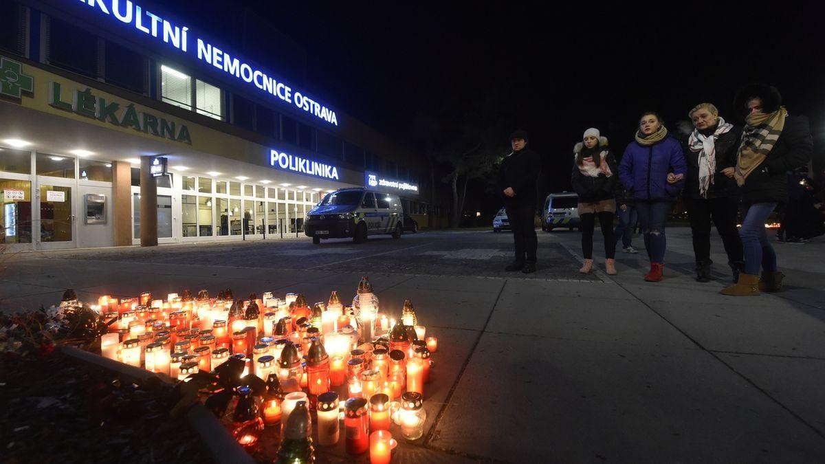Rodinám obětí masakru v Ostravě lidé poslali už 2,4 milionu