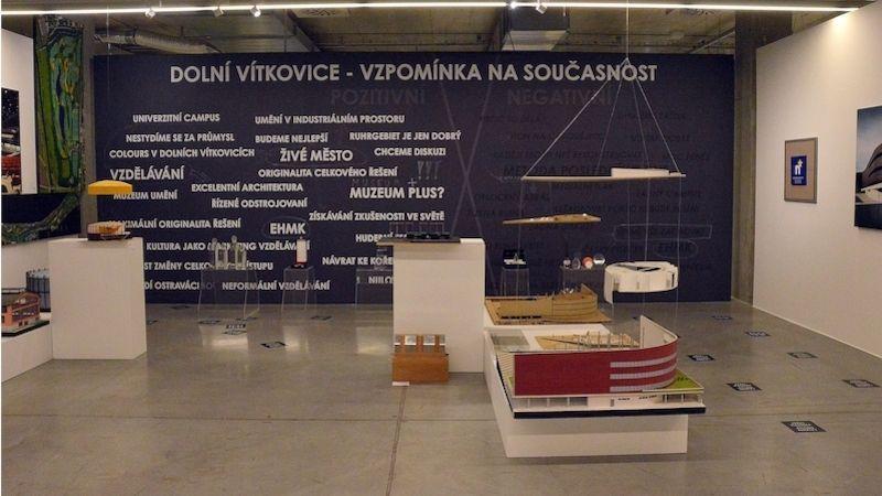 Výstava představuje, jak se Dolní Vítkovice proměnily za 17 let