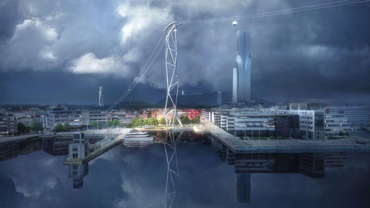 Švédskému Göteborgu přibyde nový druh veřejné dopravy