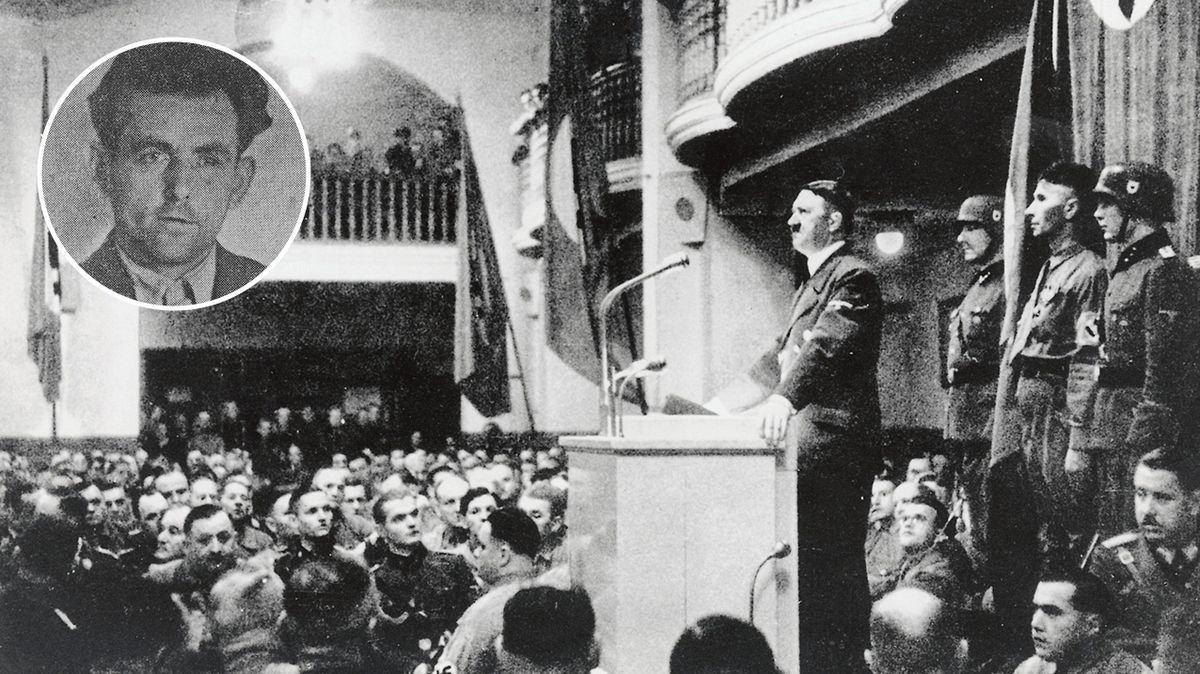 Před 80 lety mohl být zneškodněn Adolf Hitler. Atentátník však ztroskotal na své důkladnosti