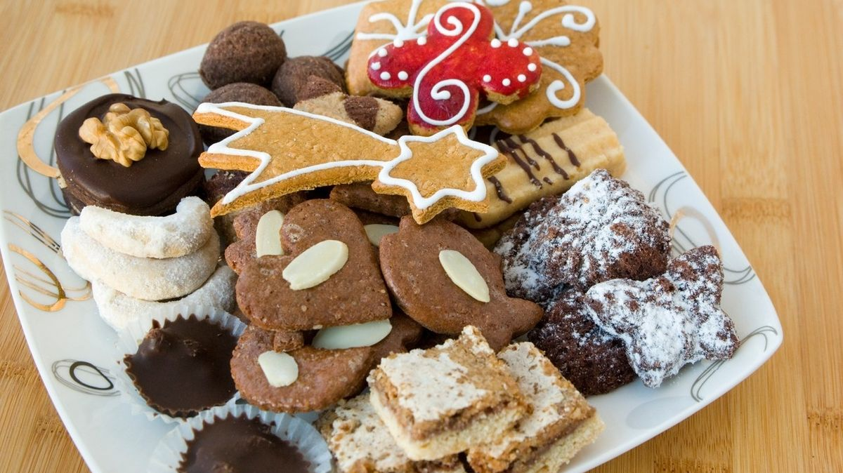 Vánoční cukroví podle vyhlášeného cukráře