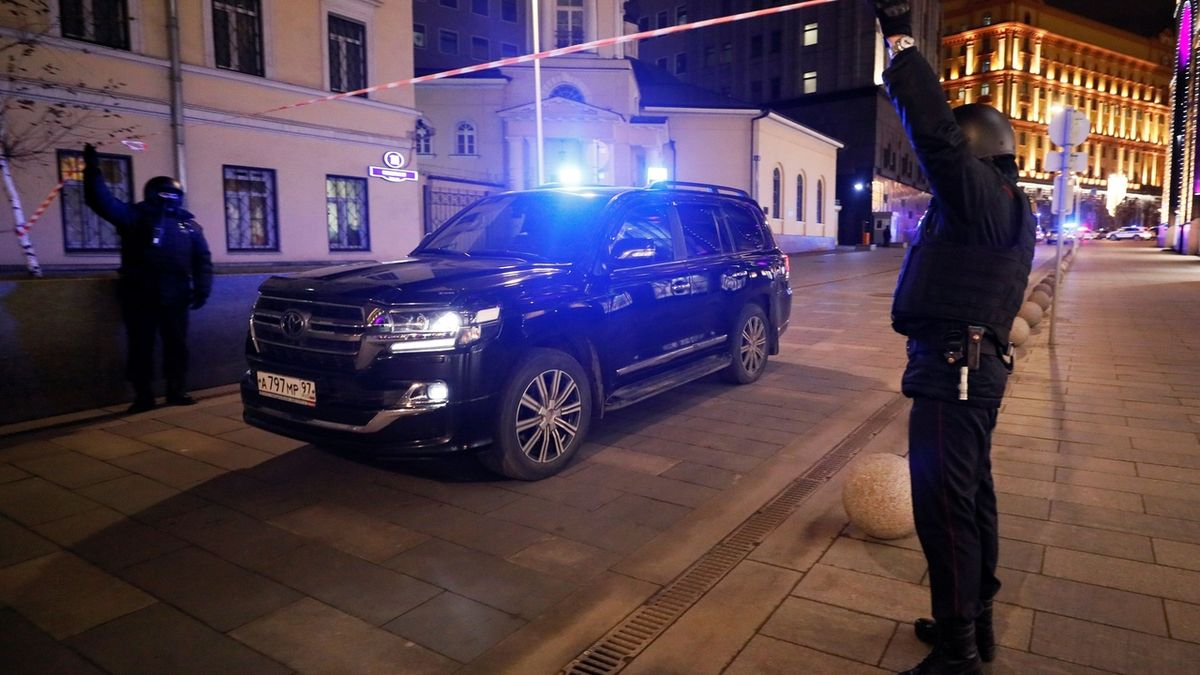 FSB zadržela ukrajinského diplomata