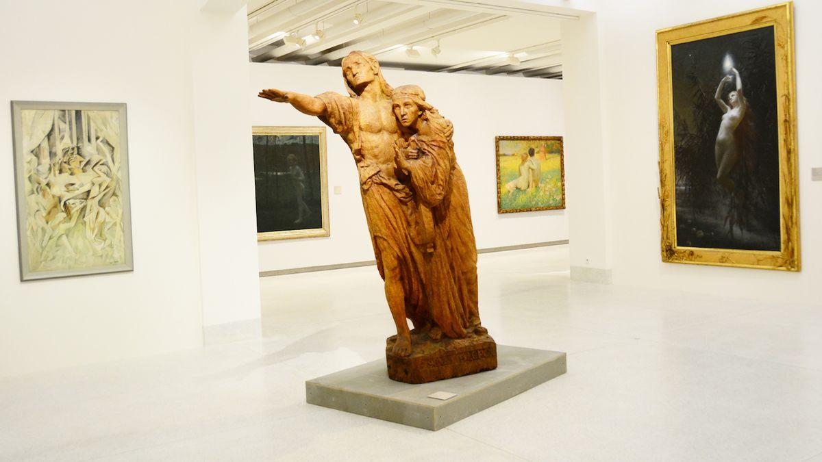 Umění dlouhého století v Národní galerii: Mezi císařem a prezidentem