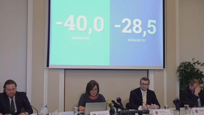 Státní rozpočet skončil ve schodku 28,5 miliardy, oznámila Schillerová