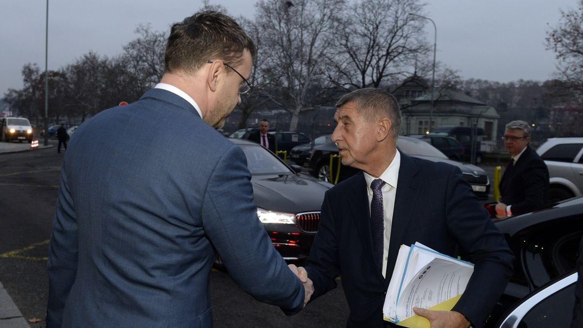 Babiš uvedl Havlíčka do funkce ministra dopravy